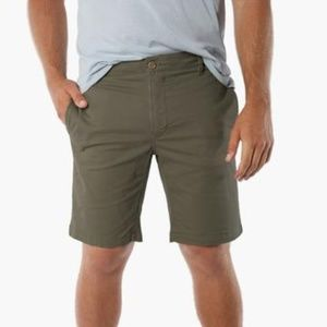 7aa64d5cda NWT Tailor Vintage 24/7 Smart Chino Shorts Army 31